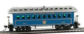 Model-Power 1890 Wooden-Type Coach Baltimore & Ohio HO Scale Model Train Passenger Car #719525