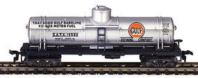 Model-Power 40 Single-Dome Tank Car Gulf HO Scale Model Train Freight Car #732593