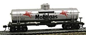 Model-Power 40 Single-Dome Tank Car Mobilegas HO Scale Model Train Freight Car #732694