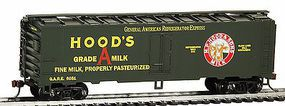 Model-Power 41 Steel Refrigerator Car Hood Milk (Re-Issue) HO Scale Model Train Freight Car #733043