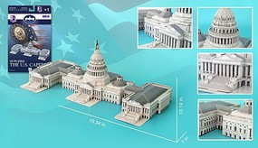 Model-Power U.S. Capitol 3d Puz (132)