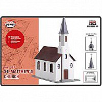 Model-Power HO St. Matthews Church B/U