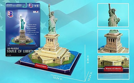 Model-Power Statue of Liberty 3d Puz (39)