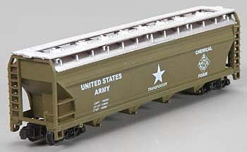 Model-Power US Army 55 Cylindrical Hopper Car N