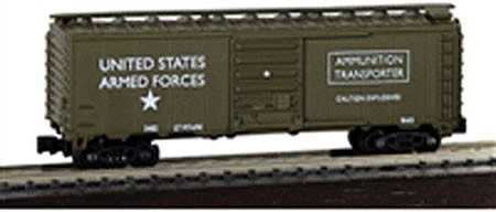 Model-Power N 40 Boxcar US ARMY