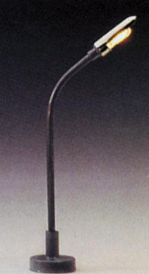 Model Power Single Highway Lamps (3) -- N Scale Model Railroad Street Light -- #8480