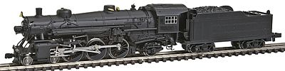 Model Power 4-6-2 w/Standard Tender Undecorated -- N Scale Model Train Steam Locomotive -- #87399