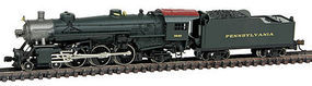 Model-Power 4-6-2 Pacific w/Tender DCC/Sound Pennsylvania N Scale Model Train Steam Locomotive #874011