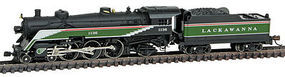 Model-Power 4-6-2 Semi Pacific DCC/Sound Lackawanna N Scale Model Train Steam Locomotive #874261
