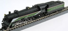 Model-Power 4-6-2 Semi Streamliner Pacific Lackawanna N Scale Model Train Steam Locomotive #87426