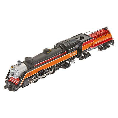 Model Power Semi Pacific w/Tender Southern Pacific -- N Scale Model Train Steam Locomotive -- #874291