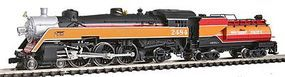 Model-Power Semi-Streamlined 4-6-2 w/Tender - Southern Pacific N Scale Model Train Steam Locomotive #87429