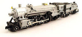 Model-Power 4-6-2 Pacific w/Vandy Coal Tender UP Grey Goose N Scale Model Train Steam Locomotive #87435