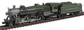 Model-Power 4-6-2 with Tender DCC Baltimore & Ohio N Scale Model Train Steam Locomotive #874371