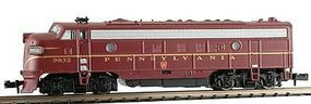 Model-Power EMD FP7A Phase II Pennsylvania N Scale Model Train Diesel Locomotive #87441