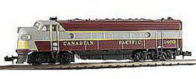 Model-Power EMD FP7A Phase I Canadian Pacific N Scale Model Train Diesel Locomotive #87442