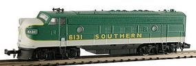 Model-Power EMD FP7A Phase I Southern N Scale Model Train Diesel Locomotive #87444
