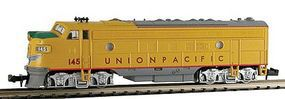 Model-Power Diesel EMD FP7A Phase II Union Pacific N Scale Model Train Diesel Locomotive #87445