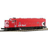 Model-Power FP-7 Phase 1 Canadian Pacific N Scale Model Train Diesel Locomotive #87448