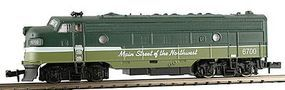 Model-Power EMD FP7A Phase II Northern Pacific N Scale Model Train Diesel Locomotive #87451