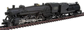 Model-Power 4-6-2 with Vandy Tender with Sound N Scale Model Train Steam Locomoitve #874701