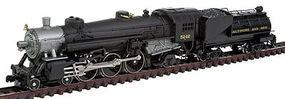Model-Power USRA 4-6-2 w/Tender DCC Baltimore & Ohio N Scale Model Train Steam Locomoitve #874711