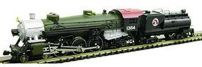 Model-Power USRA 4-6-2 with Tender Southern Pacific N Scale Model Train Steam Locomotive #87474