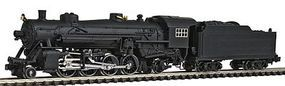 Model-Power 2-8-2 Mikado w/Standard Tender Undecorated N Scale Model Train Steam Locomotive #87570