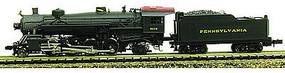 Model-Power 2-8-2 Mikado with Tender DCC/Sound Pennsy N Scale Model Train Steam Locomotive #875711