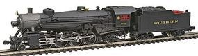 Model-Power 2-8-2 Mikado w/Standard Tender Southern N Scale Model Train Steam Locomotive #87573