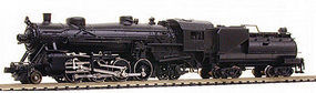 Model-Power 2-8-2 Mikado with Tender Sound Undecorated N Scale Model Train Steam Locomotive #875901