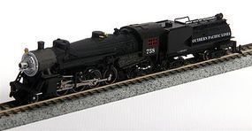 Model-Power Southern Pacific USRA 2-8-2 Mikado w/Vandy Tender N Scale Model Train Steam Locomotive #87593