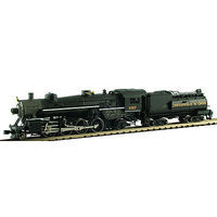 Model-Power 2-8-2 Mikado with Tender DCC Chesapeake & Ohio N Scale Model Train Steam Locomotive #875951