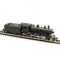 Model-Power 2-6-0 Mogul DCC/Snd Undec - N-Scale