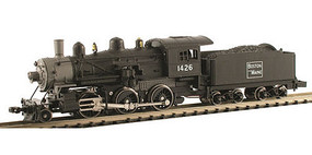 Model-Power 2-6-0 Mogul DCC/Sound B&M N Scale Model Train Steam Locomotive #876011
