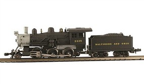 Model-Power 2-6-0 Mogul B&O DCC with Sound N Scale Model Train Steam Locomotive #876021