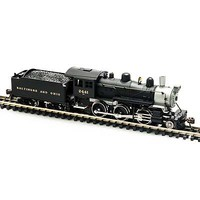 Model-Power 2-6-0 Mogul DCC Compatible B&O N Scale Model Train Steam Locomotive #87602