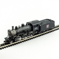 Model-Power 2-6-0 Mogul DCC/Sound CB&Q N Scale Model Train Steam Locomotive #876031