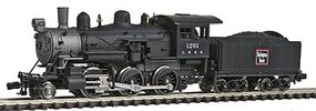 Model-Power Steam 2-6-0 Mogul Chicago, Burlington & Quincy N Scale Model Train Steam Locomotive #87603