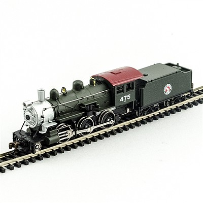 Model Power 2-6-0 Mogul GN DCC with Sound -- N Scale Model Train Steam Locomotive -- #876041