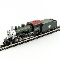 Model-Power 2-6-0 Mogul GN DCC with Sound N Scale Model Train Steam Locomotive #876041