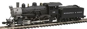 Model-Power Steam 2-6-0 Mogul Minneapolis and St. Louis N Scale Model Train Steam Locomotive #87605