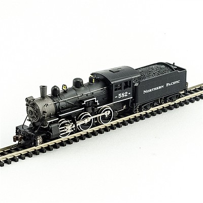 Model Power 2-6-0 Mogul DCC/Sound NP -- N Scale Model Train Steam Locomotive -- #876061