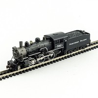 Model-Power 2-6-0 Mogul DCC/Sound NP N Scale Model Train Steam Locomotive #876061