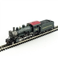 Model-Power 2-6-0 Mogul DCC/Sound PRR N Scale Model Train Steam Locomotive #876081