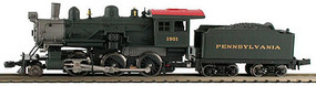 Model-Power 2-6-0 Mogul PRR DCC Ready N Scale Model Train Steam Locomotive #87608