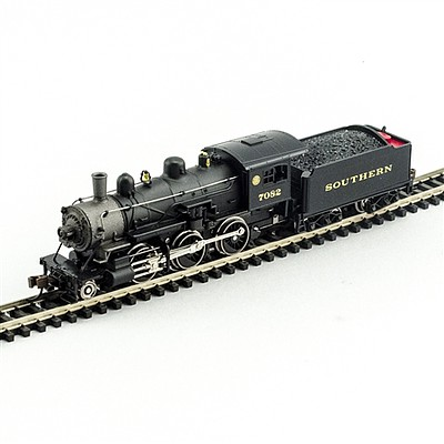 Model-Power 2-6-0 Mogul SRR DCC with Sound N Scale Model Train Steam Locomotive #876101