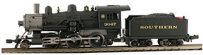 Model-Power 2-6-0 Mogul SRR DCC Ready N Scale Model Train Steam Locomotive #87610