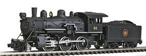 Model-Power Steam 2-6-0 Mogul Standard DC Canadian National N Scale Model Train Steam Locomotive #87613