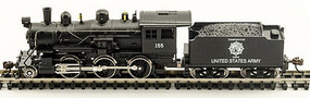 Model-Power 2-6-0 Mogul US Army DCC Ready N Scale Model Train Steam Locomotive #87615